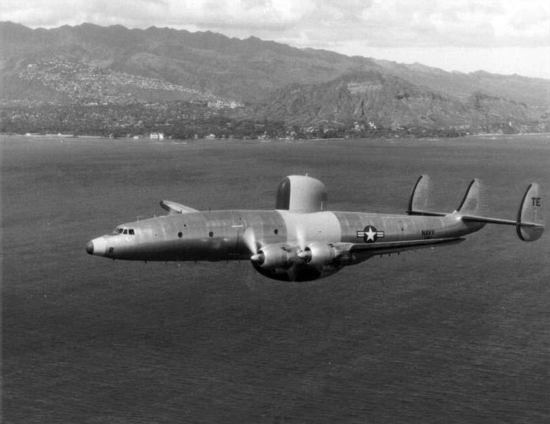 Lockheed_WV-2_near_Hawaii_1954